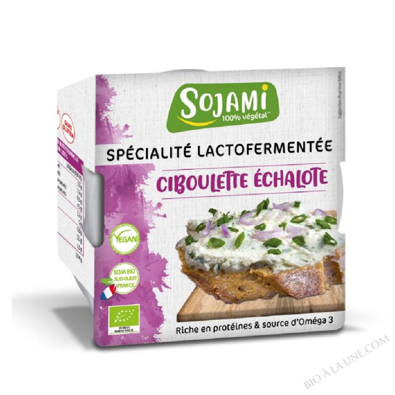 SOJAMI À TARTINER CIBOU/ECHAL 125G