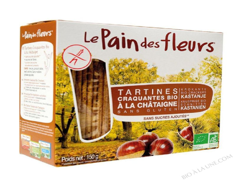 Tartine craquante à la Châtaigne 150g