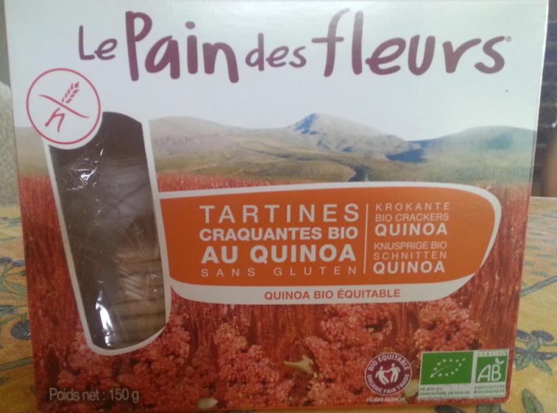 Tartines craquantes au Quinoa - 150g