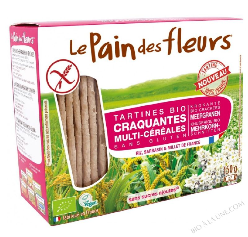 Tartine craquante Multi-cereales 150g