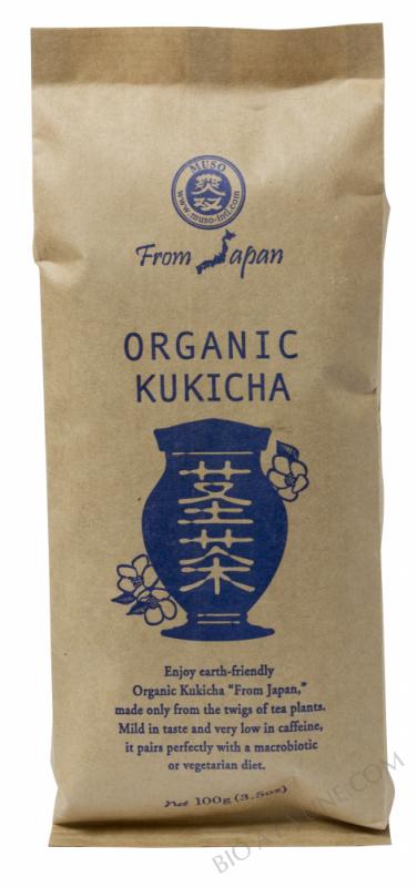 CELNAT - Thé japonais Kukicha - Brindilles grillées (Camellia Sinensis) BIO - 100g