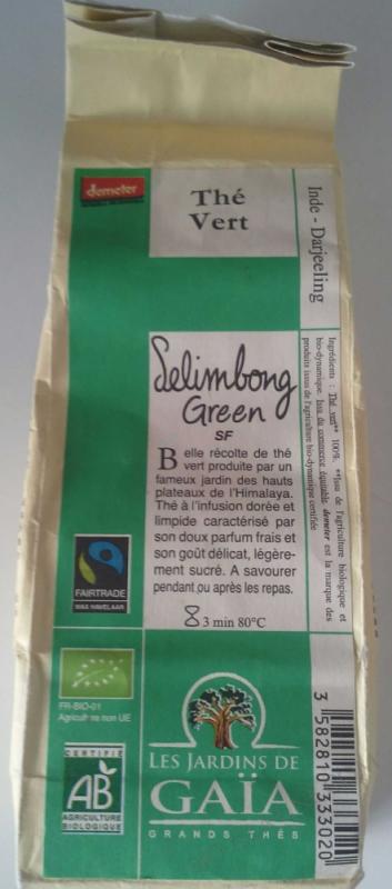 The vert SELIMBONG GREEN SF