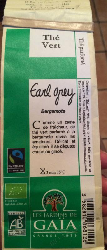 The vert Earl Grey 100g