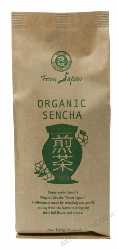 CELNAT Thé Vert japonais nature Sencha - BIO 100g