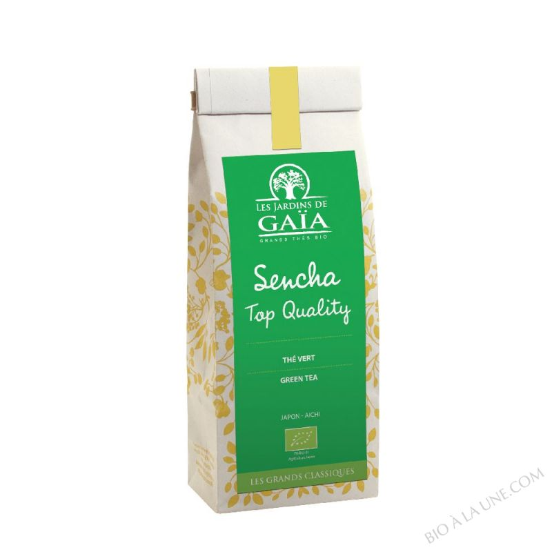 THE VERT SENCHA TOP QUALITE 100GR LES JARDINS DE GAIA