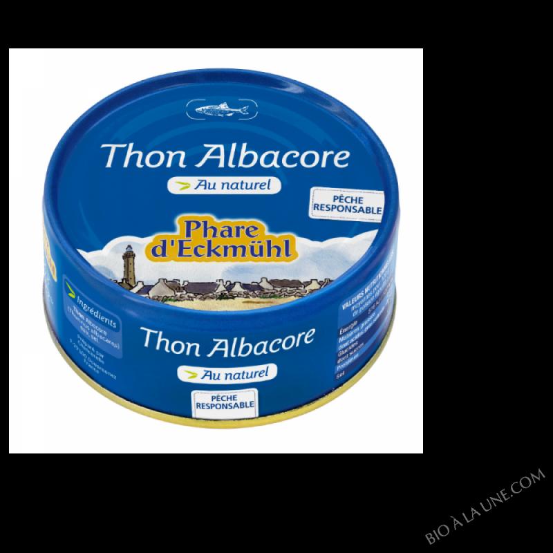 Thon albacore au naturel 112g