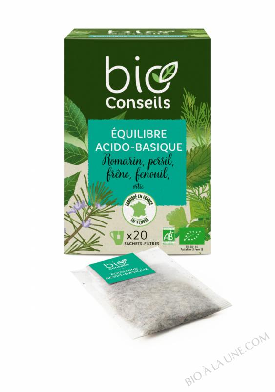 Infusion Equilibre Acido-basique de Bioconseils - 20 sachets