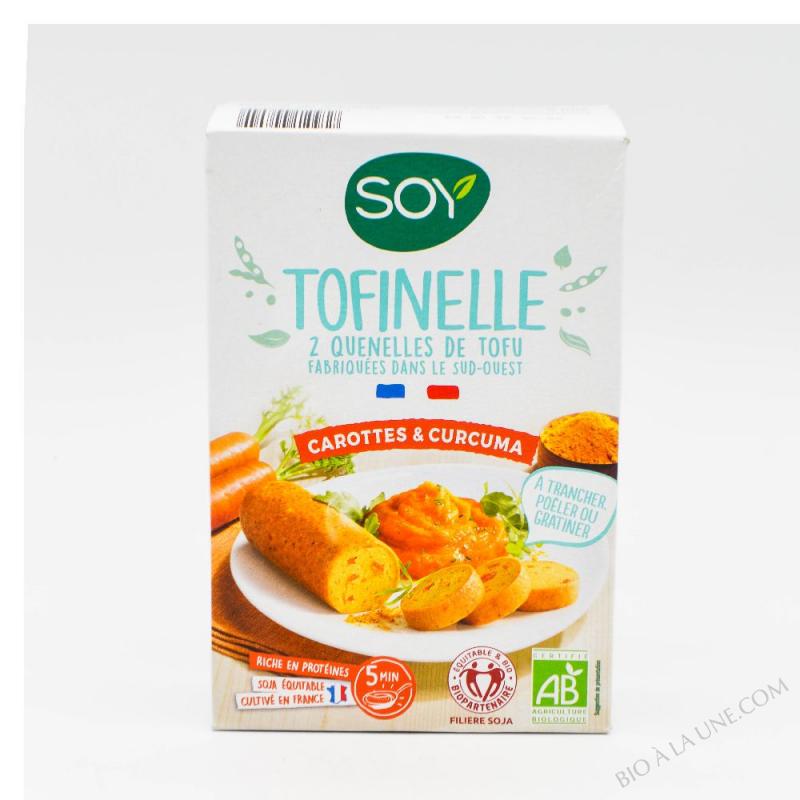 TOFINELLE CAROTTE 2X100G SOY