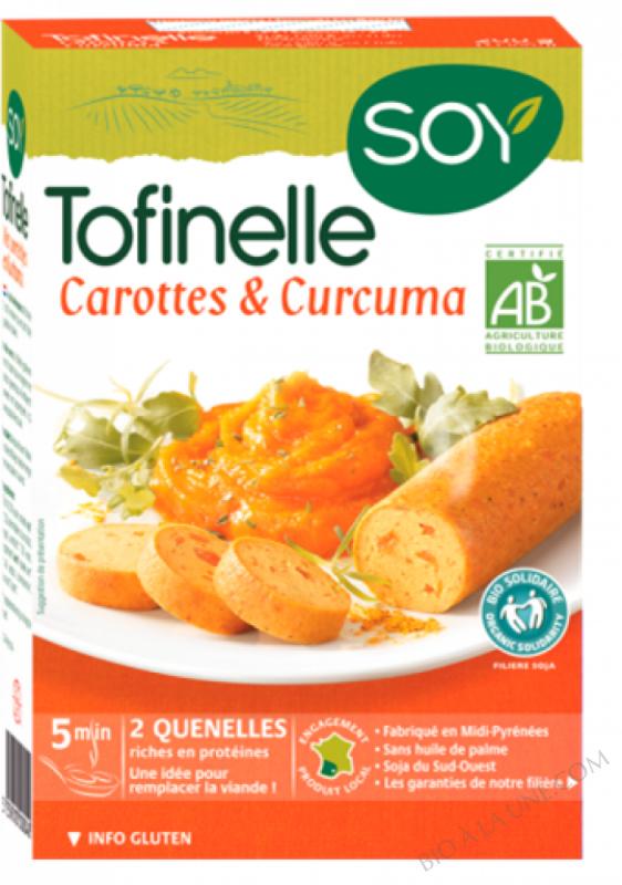 TOFINELLE CAROTTE/CURCUMA - 200g