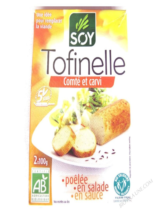 TOFINELLE COMTE CARVI (2) 200G NUTRI.ET SOJA