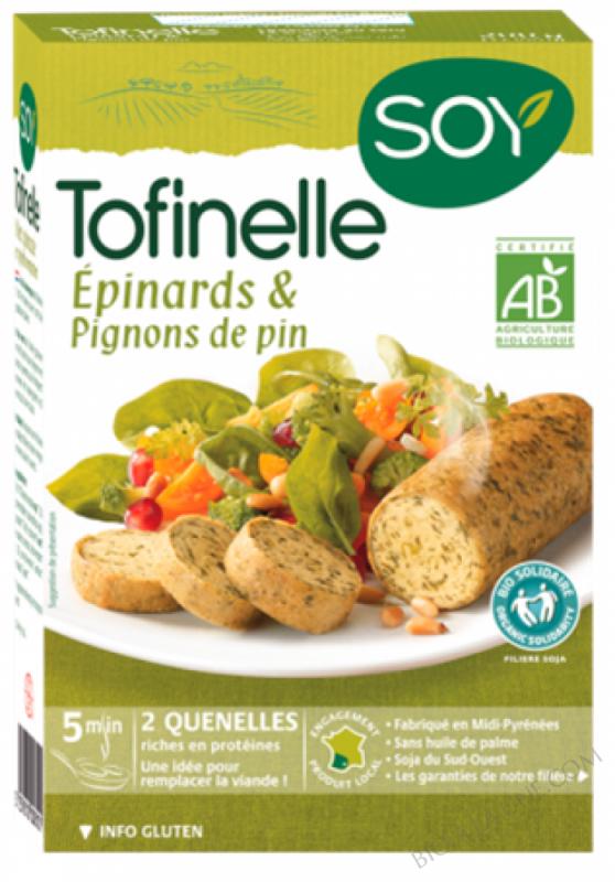 TOFINELLE EPINARDS & PIGNON DE PIN - 2 X 100 G