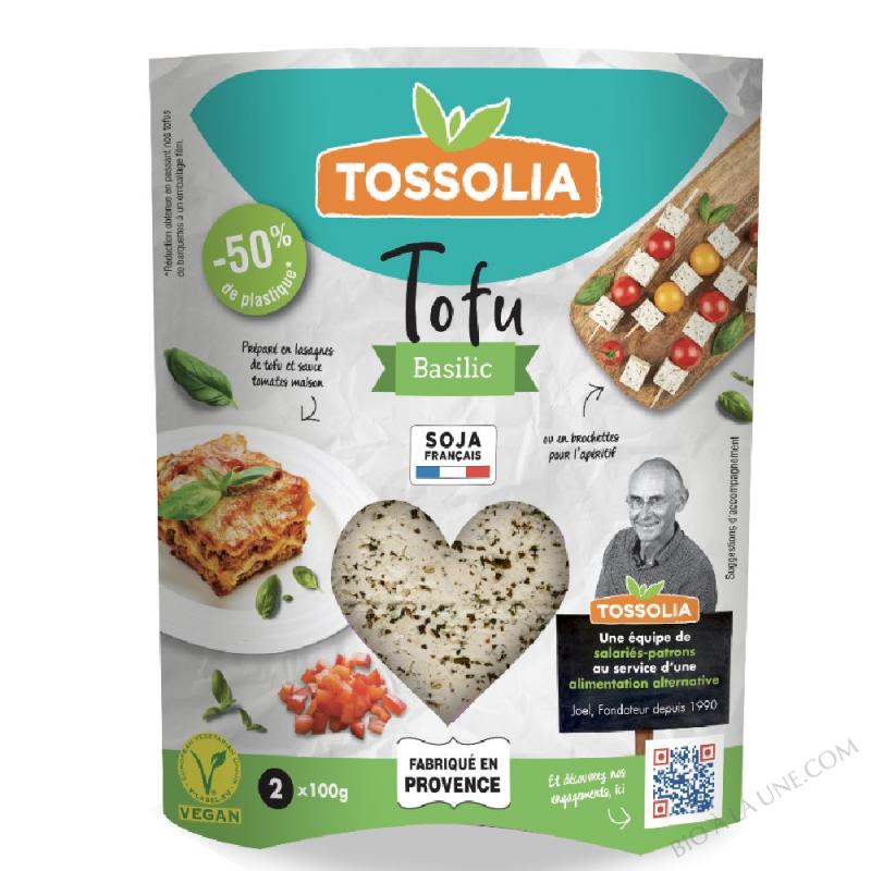 TOFU BASILIC TOSSOLIA