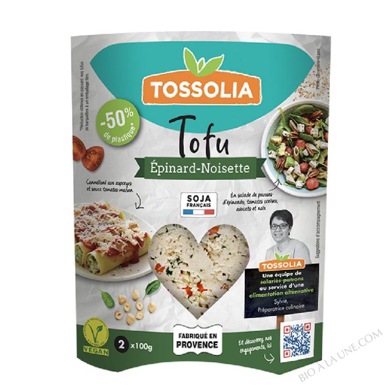 TOFU EPINARD NOISETTE TOSSOLIA
