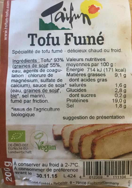TOFU FUME 200G TAIFUN