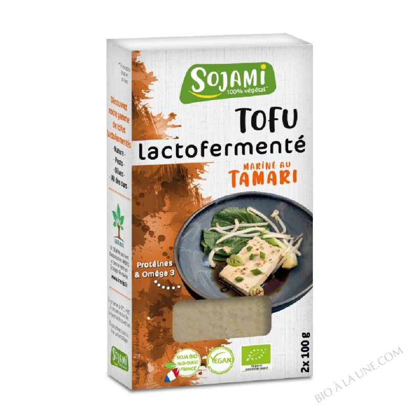 TOFU LACTOFERMENTÉ TAMARI 2X100G