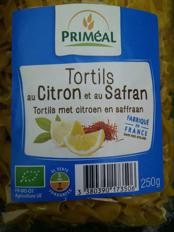 Tortils au Citron et au Safran