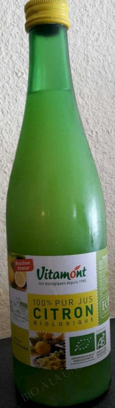 Pur Jus de Citrons Bio 50cL