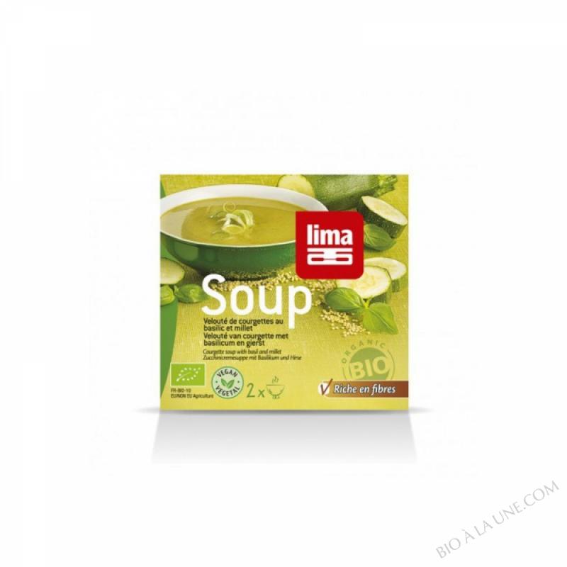 Soupe Veloute de Courgettes au Basilic 500mL