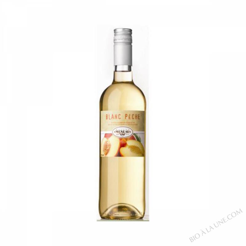 Vin Blanc Pêche Bio 75 cL