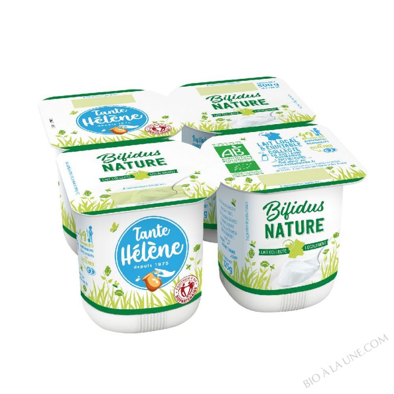 BIFIDUS NATURE 4 X 125G*