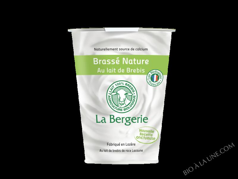 YAOURT DE BREBIS BRASSE NATURE 400G LA BERGERIE