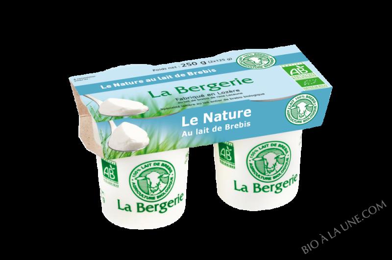 YAOURT BREBIS NATURE 2X125G LA BERGERIE
