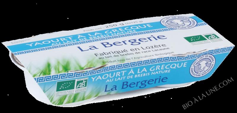 YAOURT BREBIS A LA GRECQUE 2X125G LA BERGERIE