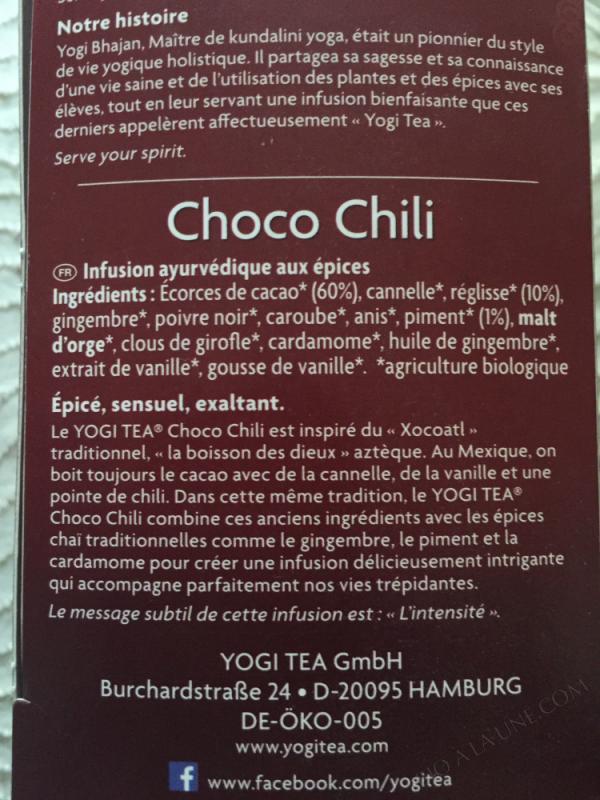 The Choco Chili 17 sachets