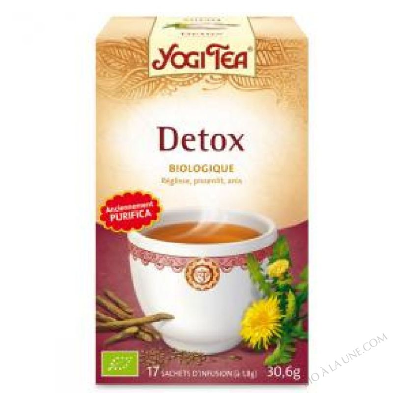Infusion Purifica Detox 15 sachets
