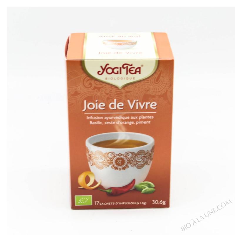 TISANE JOIE DE VIVRE X17 YOGI TEA