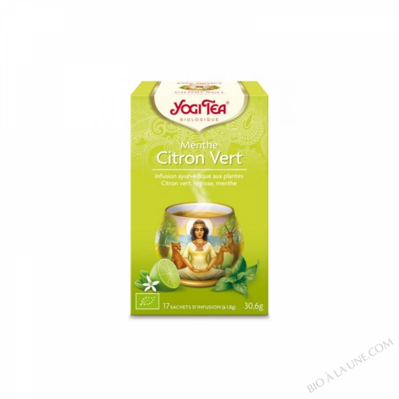 Infusion Exotique Menthe Citron Vert x 17 Sachets