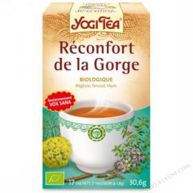 Infusion Reconfort de la gorge 15 sachets