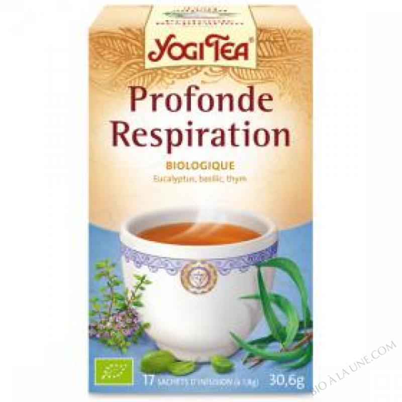 Infusion Respiration profonde 15 sachets