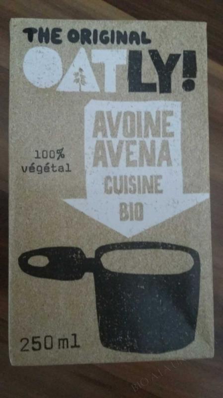 CRÈME D'AVOINE CUISINE - 250 ML