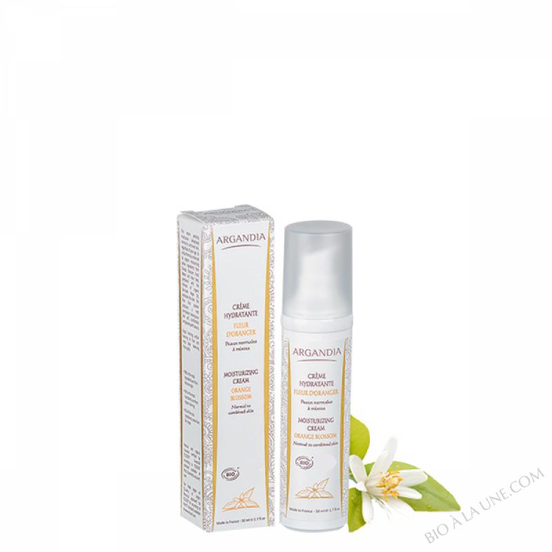 Crème Hydratante Argan Fleur d'Oranger - 50ml