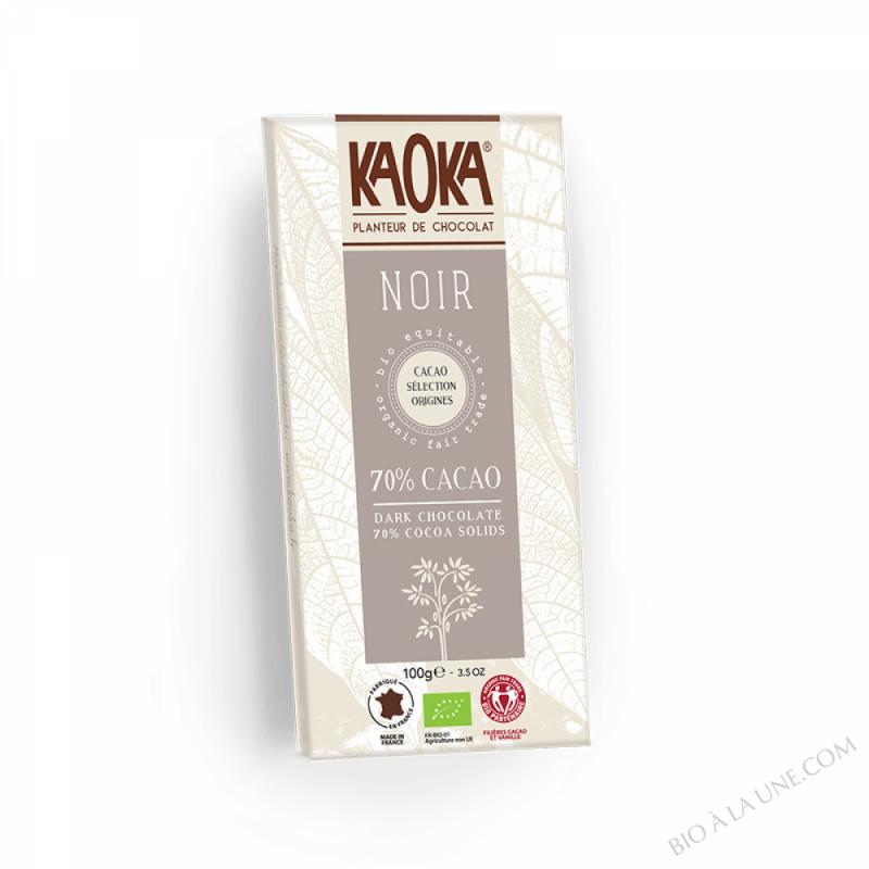 Chocolat Bio Noir 70% 100g
