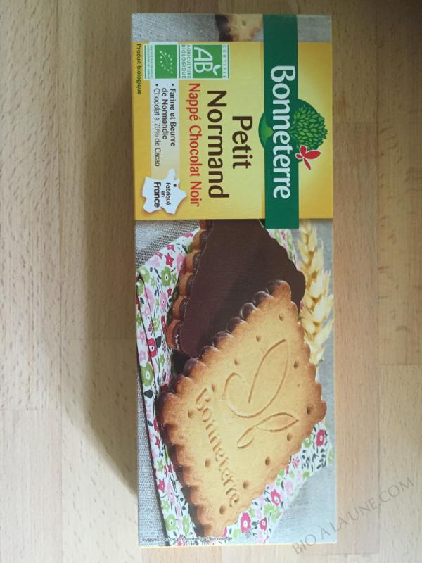 PETIT NORMAND NAPPE CHOCOLAT NOIR (PUR BEURRE) 150GR