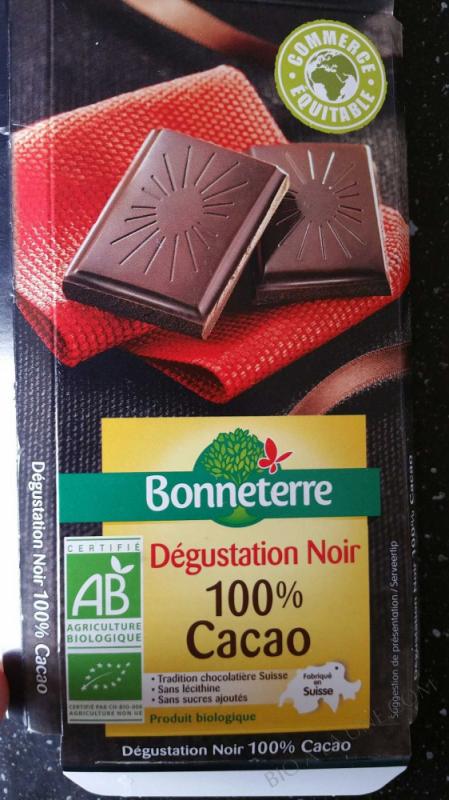 Noir Degustation 100% Cacao 70gr