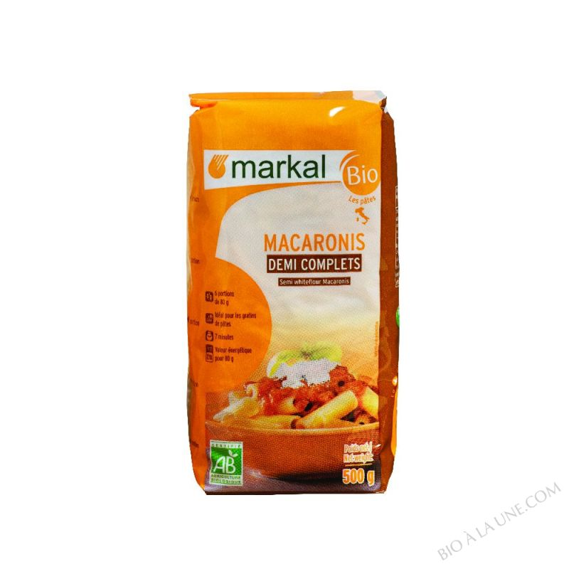 Macaronis demi-complets 500g