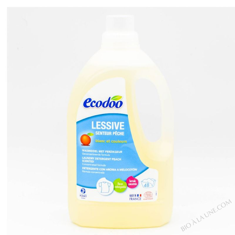 Lessive liquide ecologique 1.5L pêche