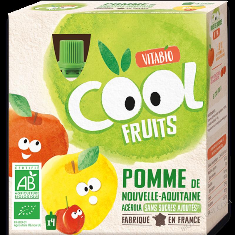 Cool Fruits Pomme de Nouvelle Aquitaine Acérola - 4x90g