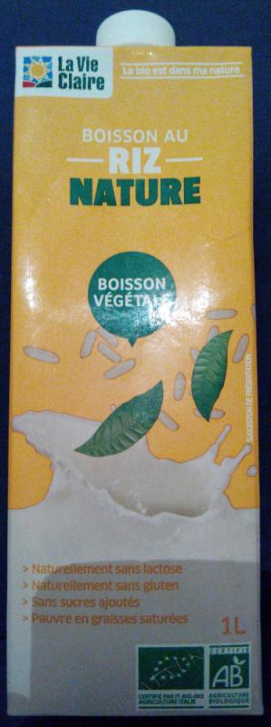 Boisson au Riz Nature - 1L
