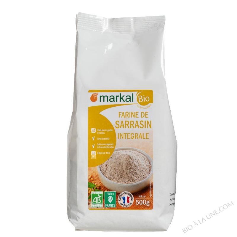 Farine de sarrasin (intégrale)