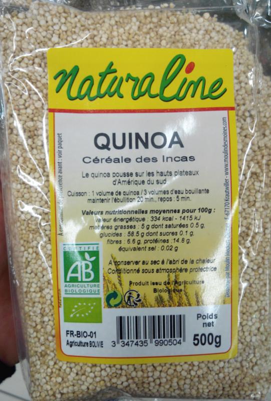 Quinoa (céréale des Incas) blanc bio - 500 g