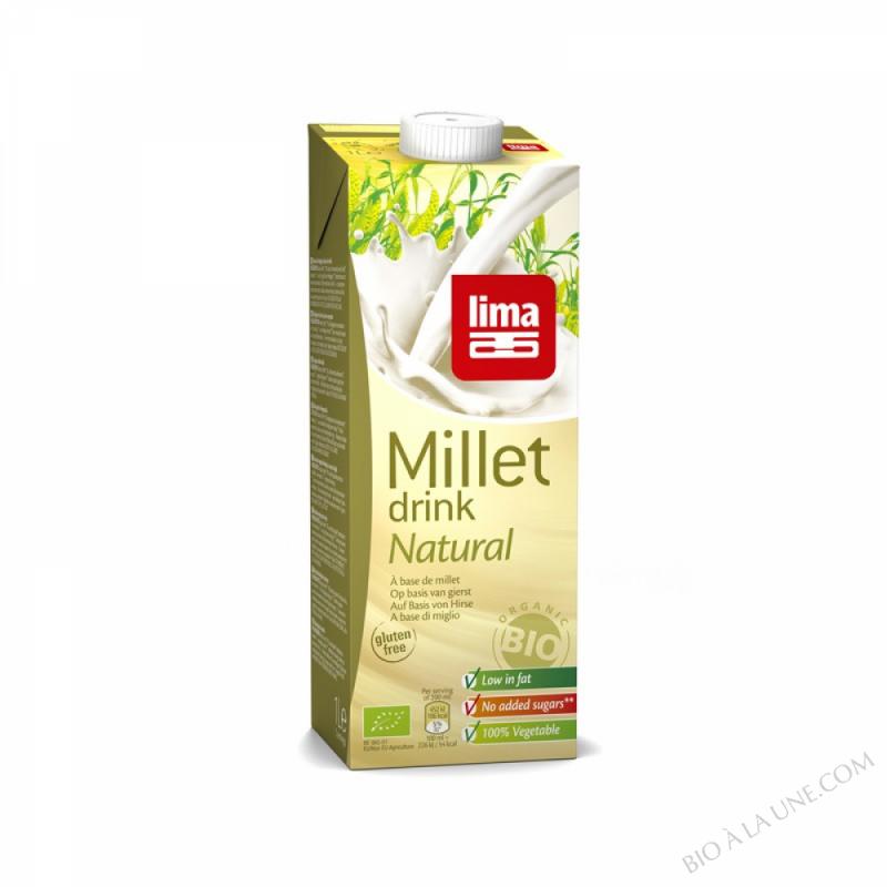 Lait de Millet Natural 1L