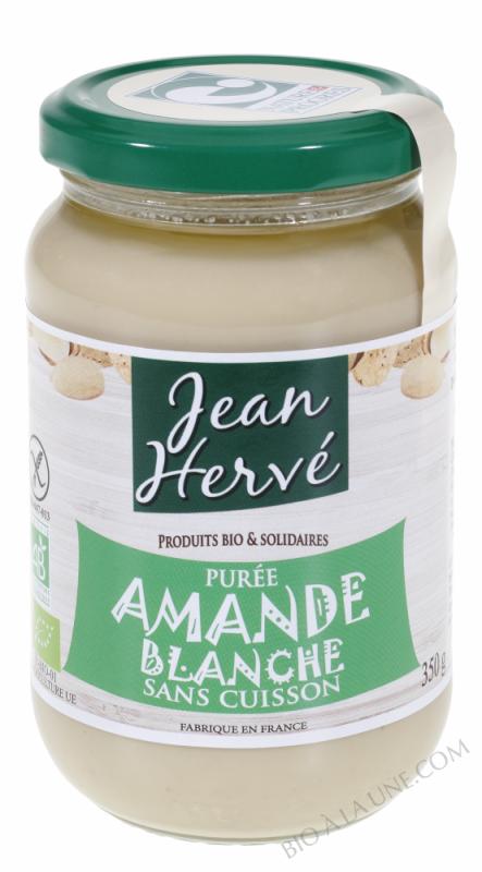 Puree d'Amande Blanche Sans Cuisson - 350g