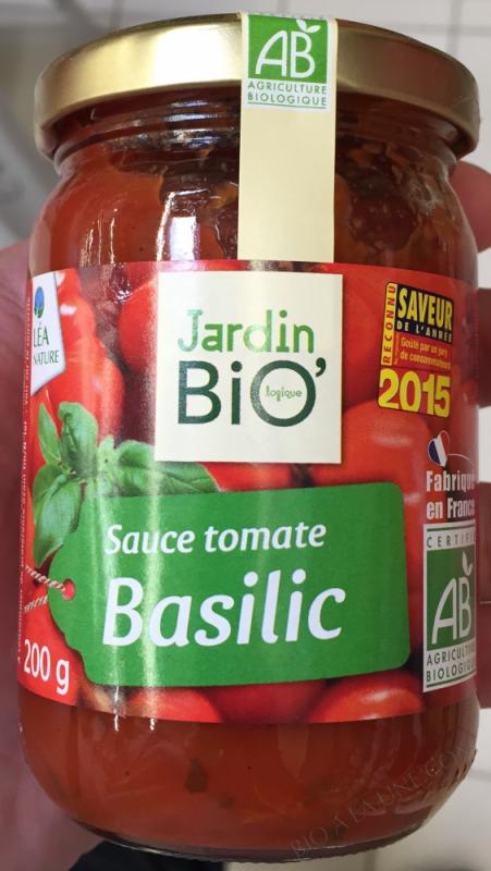 Sauce tomate au basilic 200gr