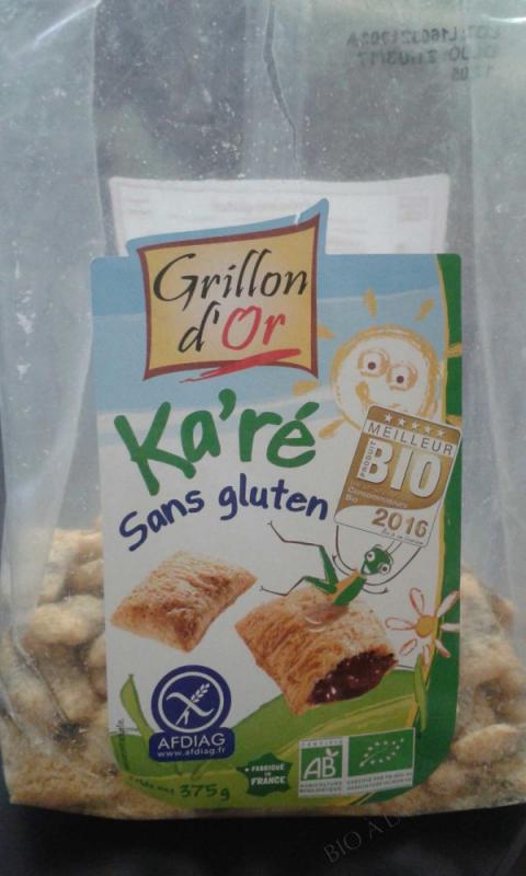 ka'ré sans gluten noisette