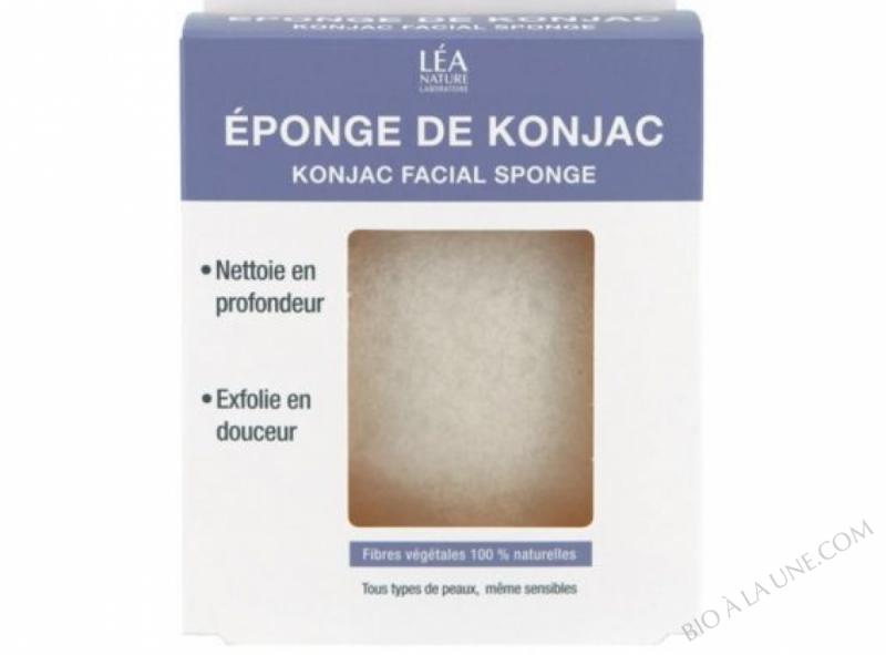 Eponge Konjac 100% naturelle