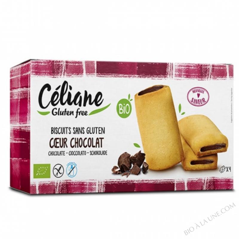 Biscuits cœur chocolat